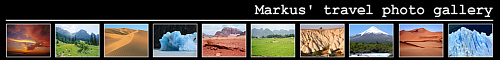Markus travel photo gallery