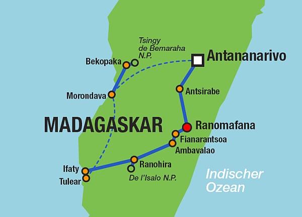 Landkarten - Madagaskar
